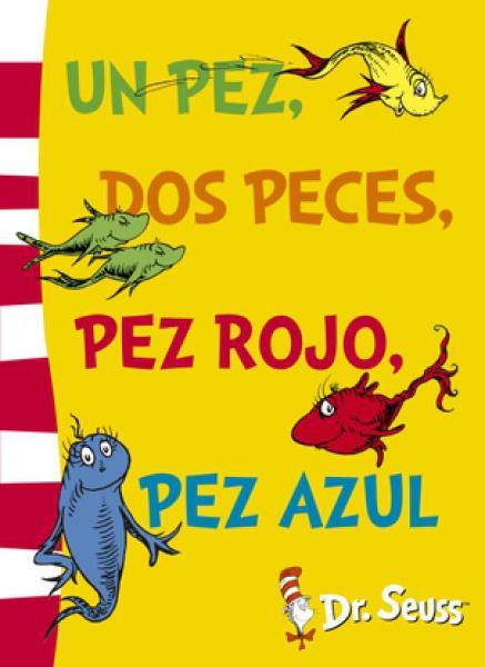 UN PEZ,DOS PECES,PEZ ROJO,PEZ AZUL