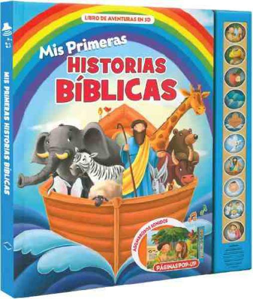 MIS PRIMERAS HISTORIAS BIBLICAS AVENTURA