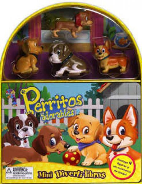 PERRITOS ADORABLES MINI DIVERTILIBROS