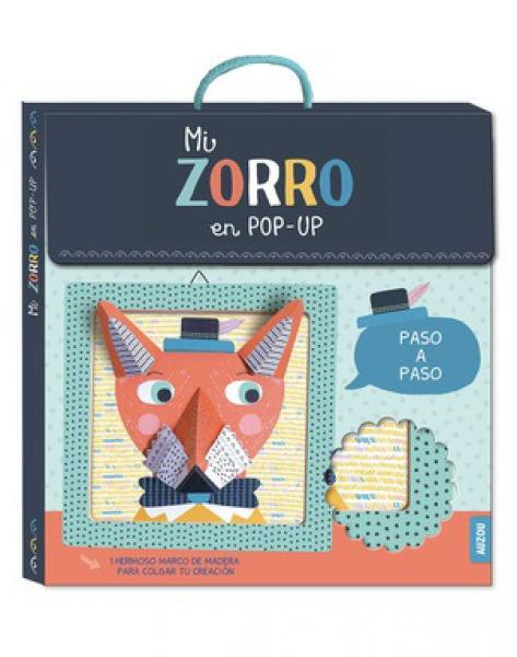 MI CUADRO DE ARTISTA ZORRO EN POP UP