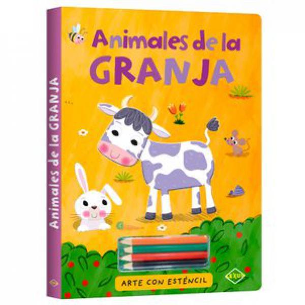 ANIMALES DE LA GRANJA ARTE ESTENCIL + LA