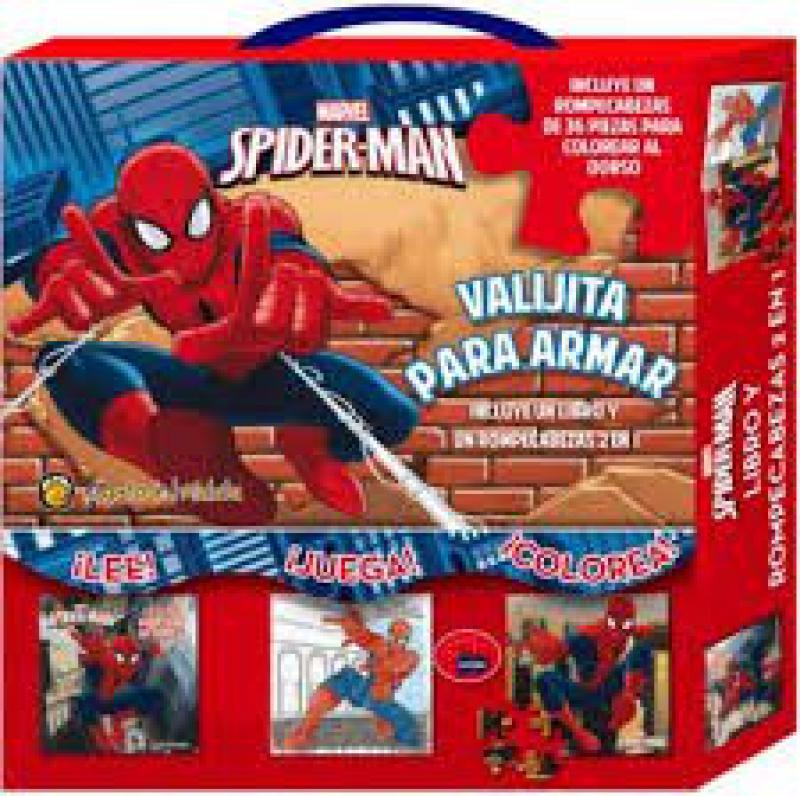 SPIDER-MAN VALIJA PARA ARMAR