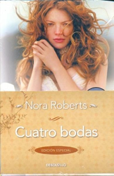 CUATRO BODAS - PACK 4 LIBROS