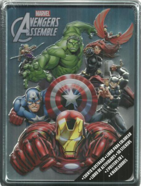 La Normal Libros Avengers Assemble Aventuras Enlatadas