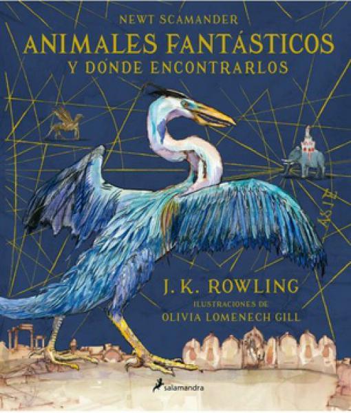 ANIMALES FANTASTICOS ... (ILUSTRADO)