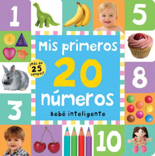 MIS PRIMEROS 20 NUMEROS BEBE INTELIGENTE