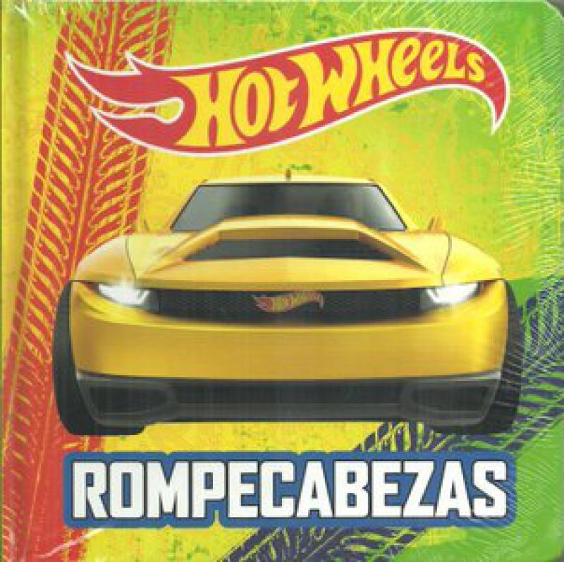 HOTWHEELS - LIBRO ROMPECABEZAS