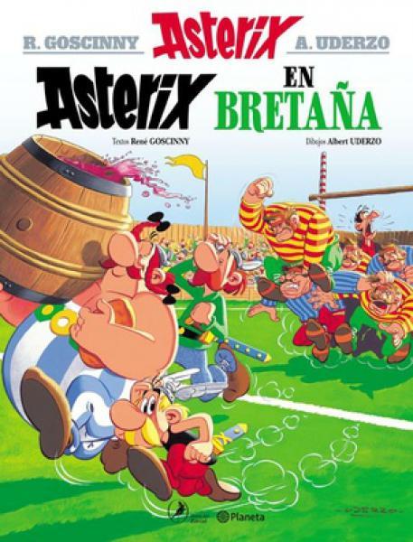 ASTERIX 8 - ASTERIX EN BRETAÑA