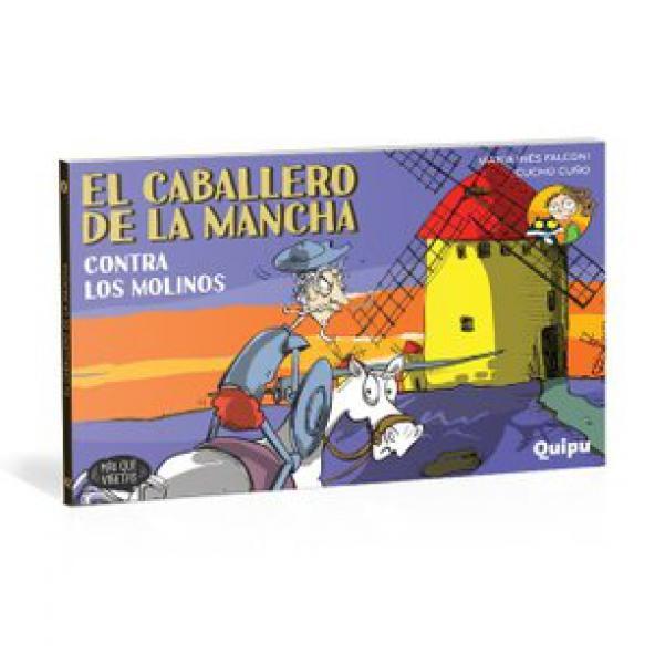 CABALLERO DE LA MANCHA CONTRA LOS MOLINO
