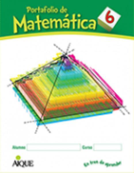 MATEMATICA 6 (PORTAFOLIO)