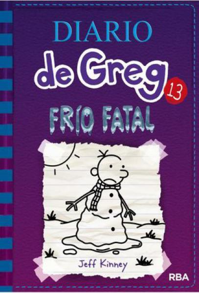 DIARIO DE GREG 13 - FRIO FATAL