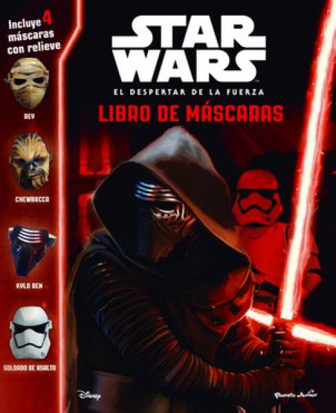 STAR WARS - LIBRO DE MASCARAS