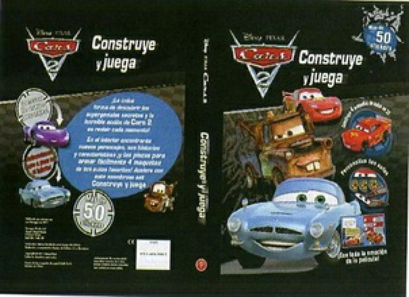 CARS 2  CONSTRUYE Y JUEGA