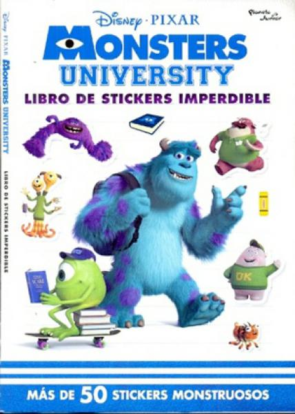 MONSTER UNIVERSITY - LIBRO DE STIKERS