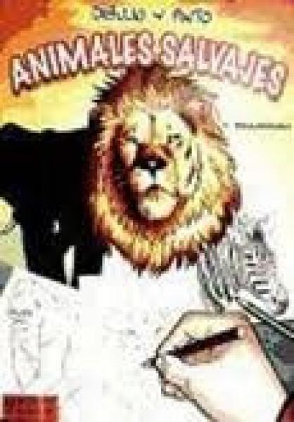 ANIMALES SALVAJES DIBUJO Y PINTO