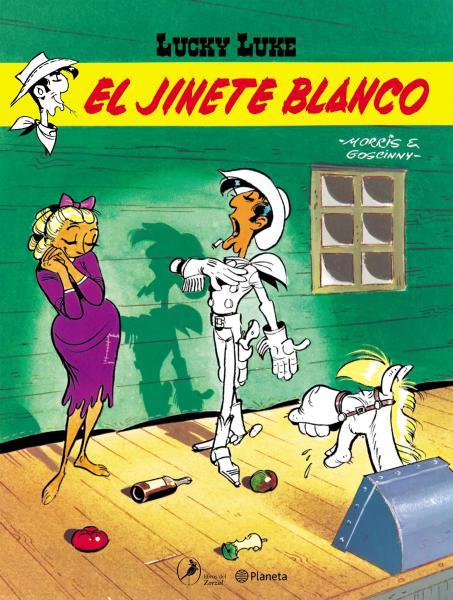 LUCKY LUKE 4 - EL JINETE BLANCO