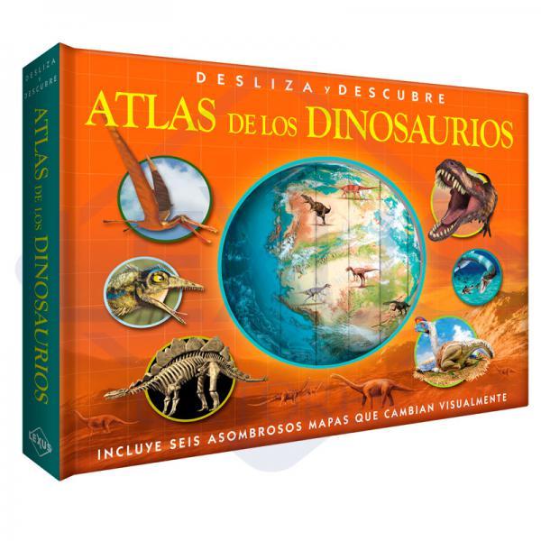 ATLAS DE LOS DINOSAURIOS DESLIZA Y DESCU