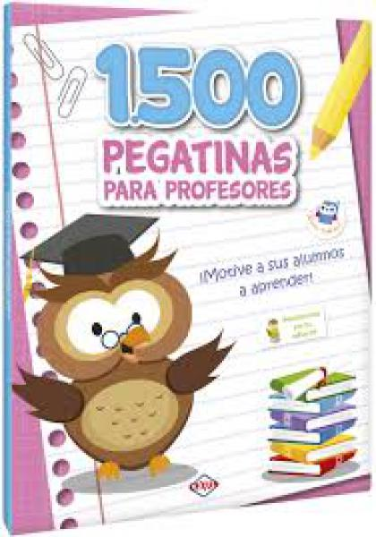 1500 PEGATINAS PARA PROFESORES - CEL.
