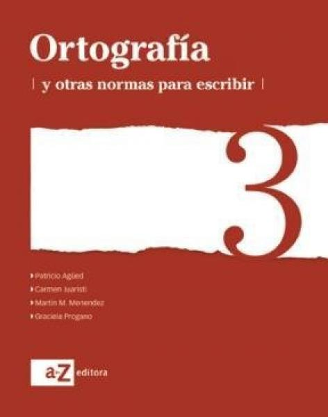 ORTOGRAFIA 3 SERIE BLANCA