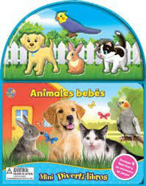 ANIMALES BEBES  MINI DIVERTI LIBROS