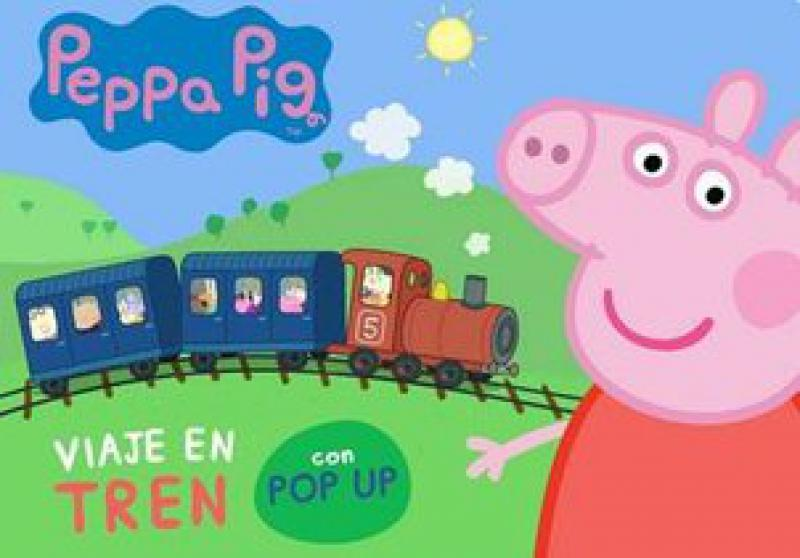 PEPPA PIG VIAJE EN TREN - POP UP