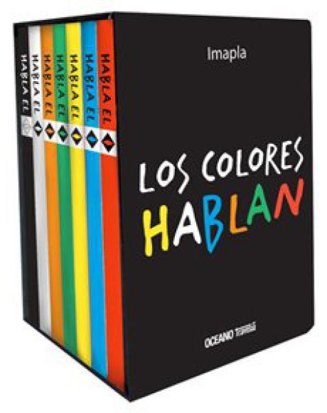 LOS COLORES HABLAN (7 LIBRITOS)