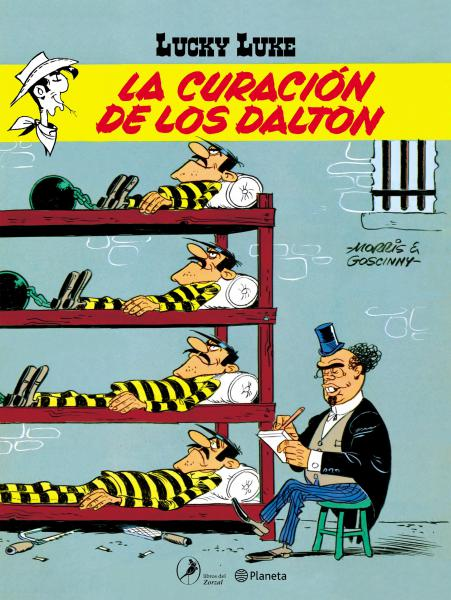 LUCKY LUKE 3 - LA CURACION DE LOS DALTON