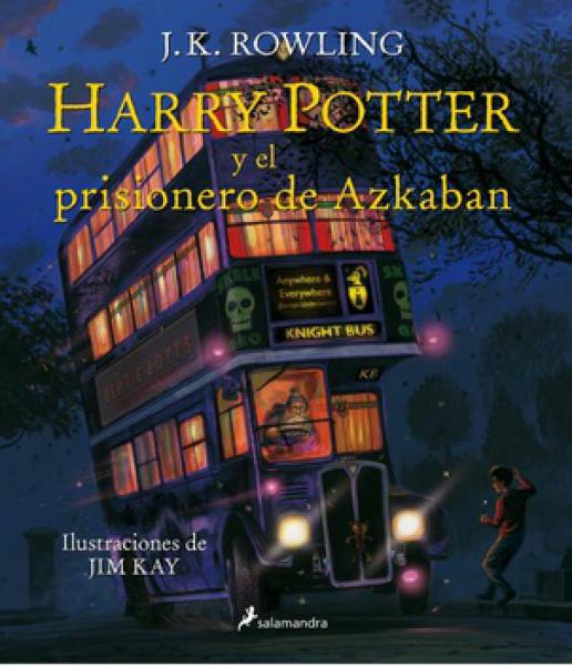 HARRY POTTER 3 - (ILUSTRADO )