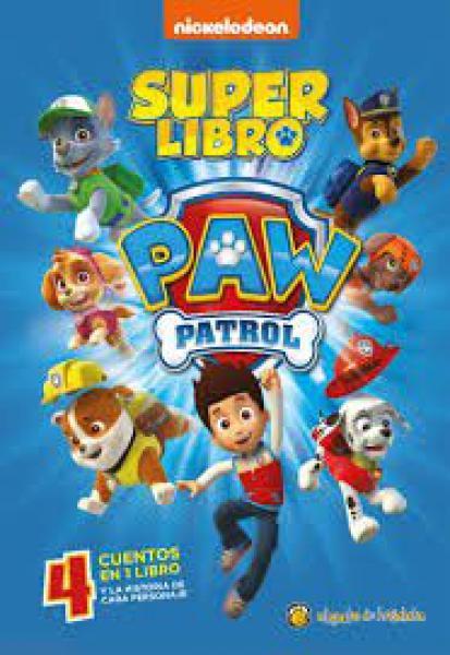 SUPER LIBRO PAW PATROL