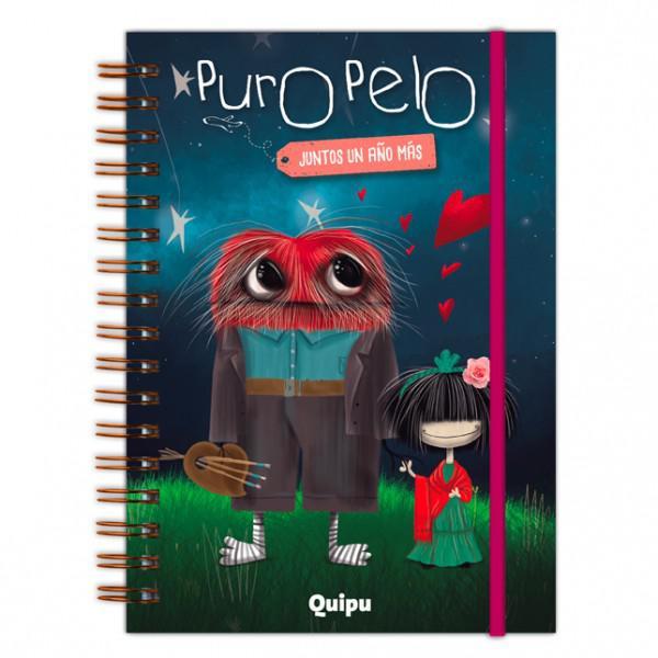 AGENDA 2018 - PURO PELO - JUNTOS UN AÑO+