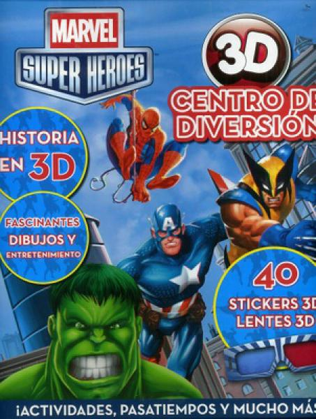 CENTRO DE DIVERSION 3D - MARVEL