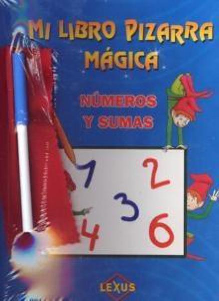 MI LIBRO PIZARRA MAGICA - NUMEROS Y SUMA