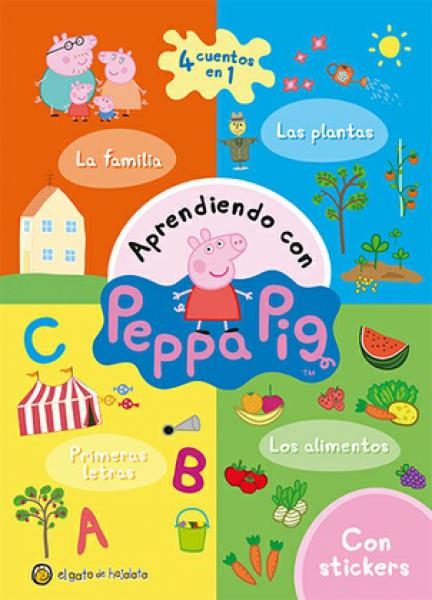 PEPPA PIG - 4 CUENTOS EN 1
