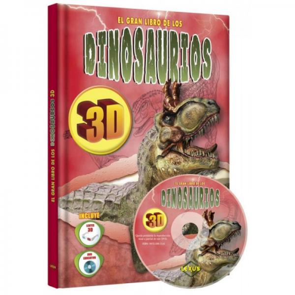 EL GRAN LIBRO DE LOS DINOSAURIOS 3D