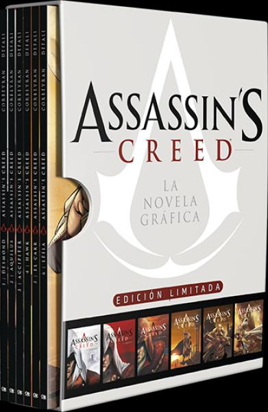 ASSASSINS CREED - LA NOVELA GRAFICA BOX