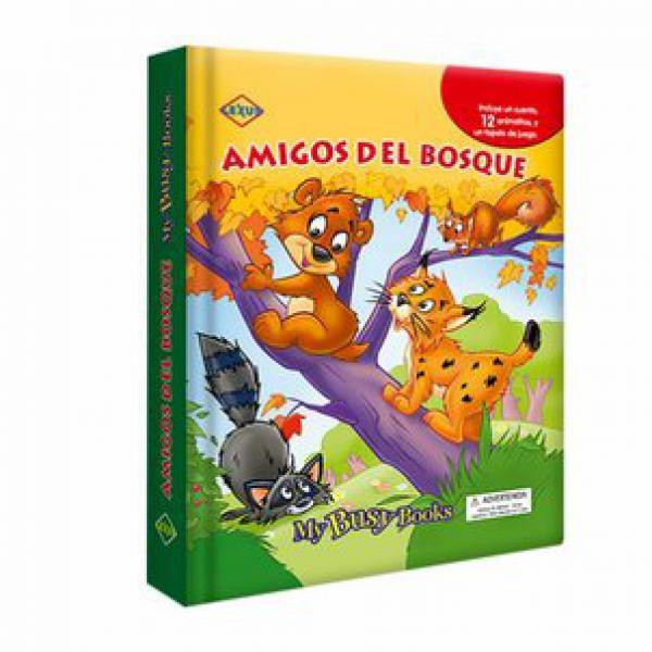 AMIGOS DEL BOSQUE (CON 12 ANIMALITOS DE