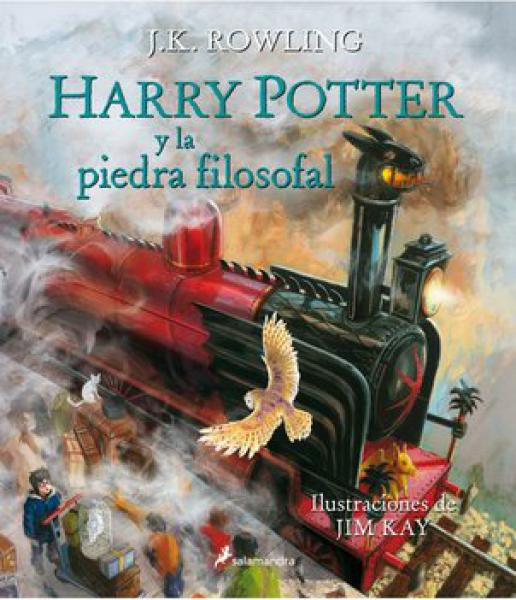 HARRY POTTER 1 - ILUSTRADO