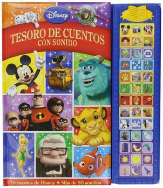 DISNEY TESORO DE LOS CUENTOS C/SONIDO