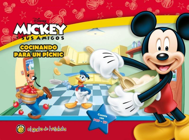 MICKEY COCINANDO PARA UN PICNIC POP-UP