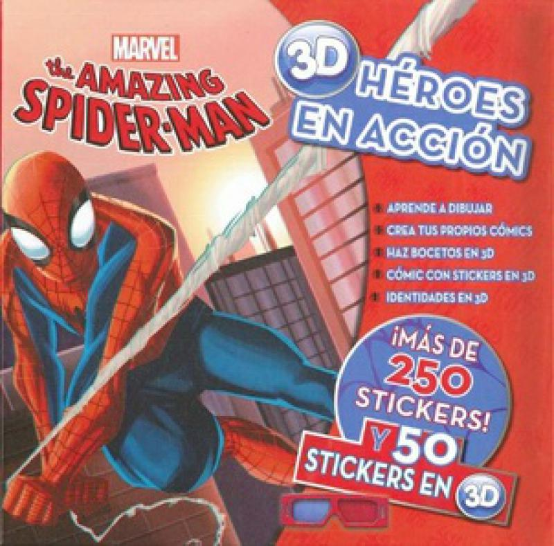 AMAZING SPIDER-MAN 3D - MARVEL